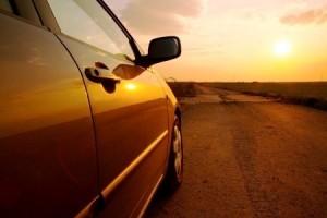 car sun